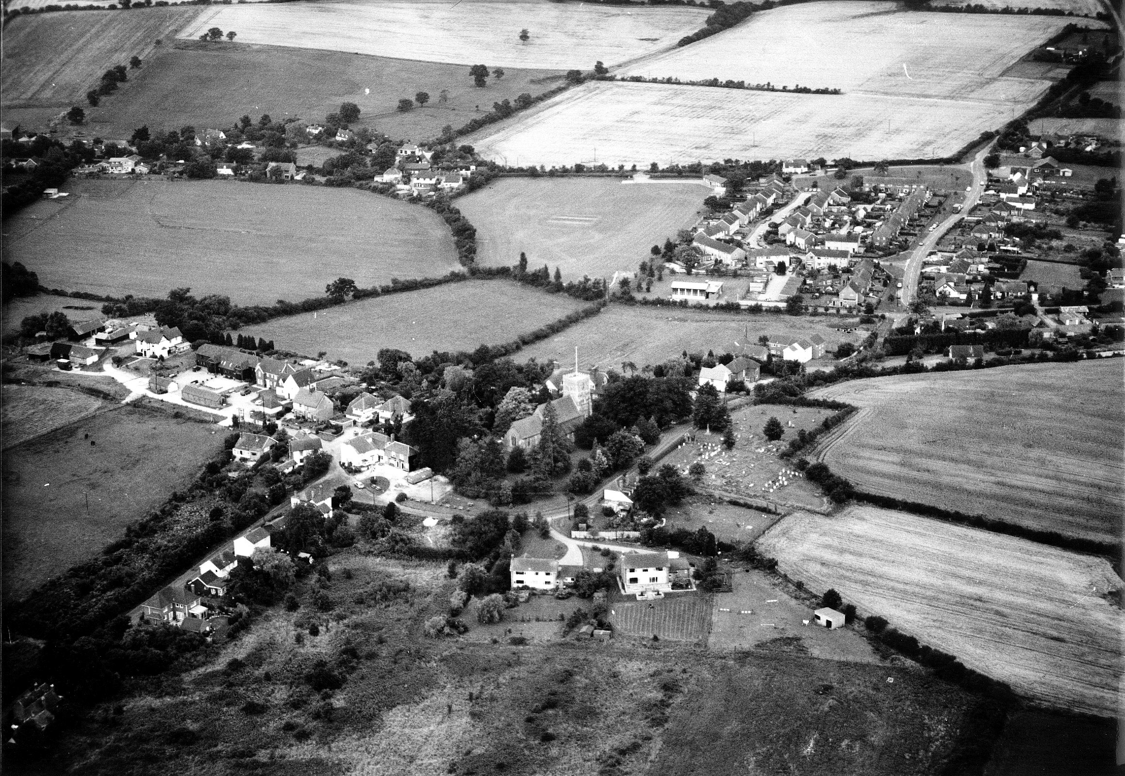 Purleigh Aerial view